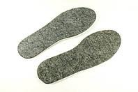 Стельки теплые для обуви фетр