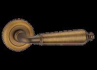 """Дверная ручка на розетке MVM """"ERIS"""" Z-1221 MACC (матовая бронза)"""