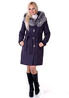 Зимнее пальто Vol Ange  Алиса (42-50) Лаванда