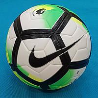 Мяч футбольный Nike Pitch Premier League 2017 (бело-зеленый), фото 1