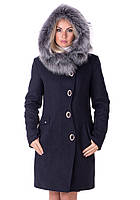 Зимнее пальто Vol Ange  Алиса (42-50) Т.-синий