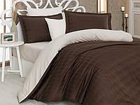Комплект постельного белья сатин тм Hobby евро размер Bulut