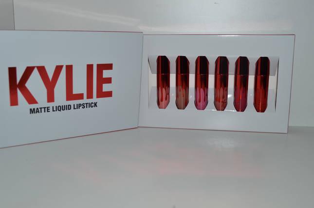 Набор блесков для губот Кайли Дженнер Kyliematte liquid lipstick, фото 2