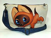 Детская сумочка клатч Гав