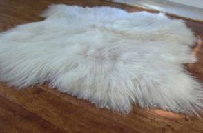Килим з 2-х овечих шкур з довгим ворсом