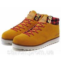 Мужские зимние ботинки Adidas Seneo Rugged Chestnut С МЕХОМ