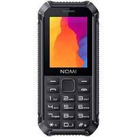 Защищенный кнопочный телефон на 2 сим карты Nomi i245 X-Treme чёрный