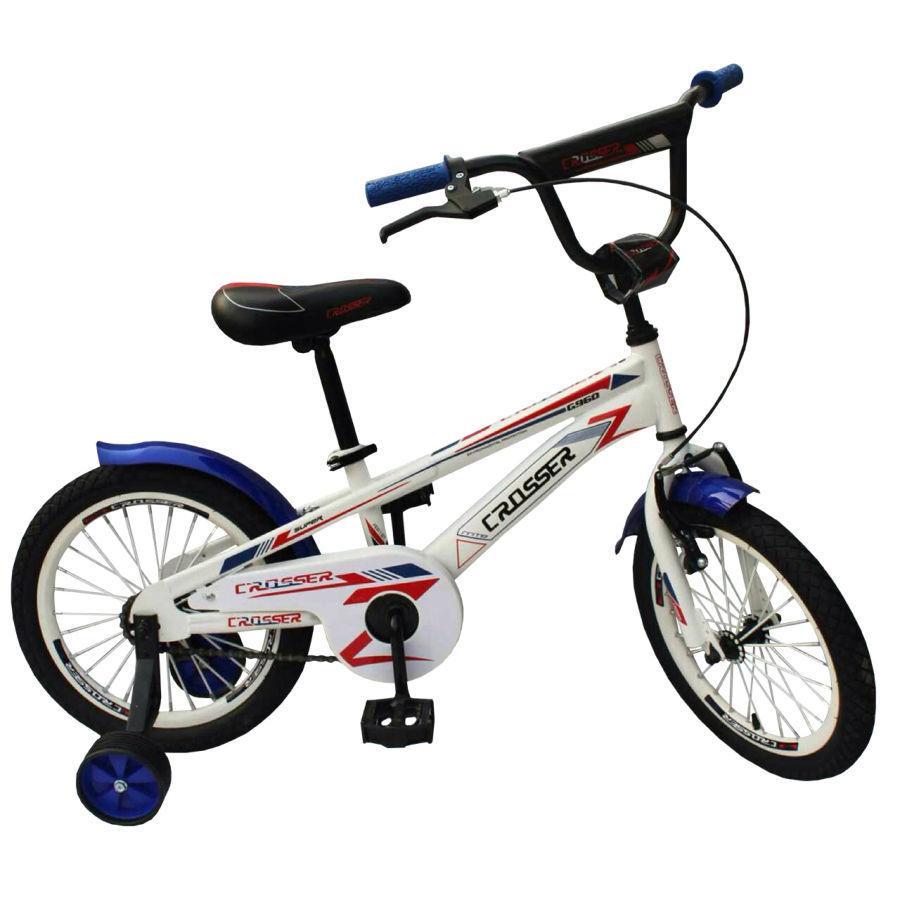 """Детский велосипед CROSSER  G 960 16""""  Белый"""