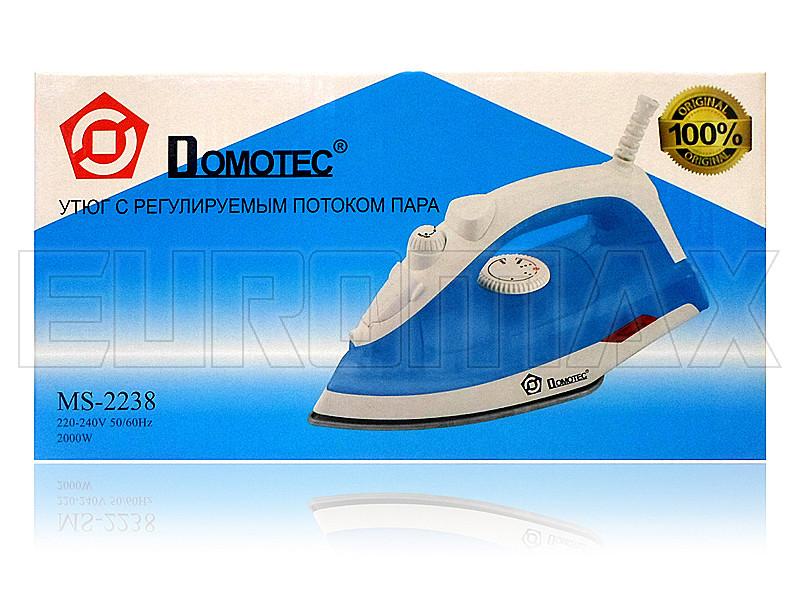 Утюг с тефлоновой подошвой 2000Вт Domotec 2238