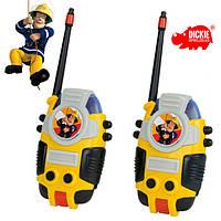 Рация игрушечная Пожарный Сэм Радио диапазон 80 м Dickie 3099611 (3099611)