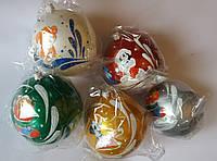 """Елочная игрушка """"Шар глянцевый Символ года Собачка"""" (диаметр 8 см, цвета в ассортименте), фото 1"""