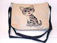 Детская сумочка кот Полосатик