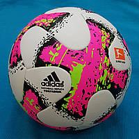Мяч футбольный Adidas Torfabrik 2017 (бело-розовый)