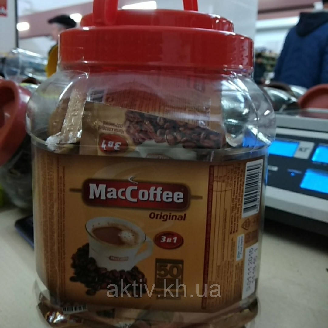 Маккофе 3 в 1 банка 50 шт
