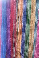 Новогодняя мишура (дождик), d=2 см, длина 3 м (набор 10 шт, цвета в ассортименте)