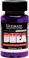 ДГЭА (Дегидроэпиандростерон) / ULTIMATE NUTRITION - DHEA 25 mg (100 caps)