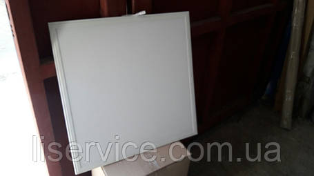 Потолочная светодиодная панель Евросвет LED-SH-600-20 6400К OPAL 36вт (тех упак 8шт) Белая рамка, фото 2