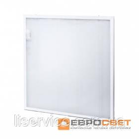 Потолочный светодиодный светильник Евросвет LED-SH-595-20 prismatic 36Вт 6400К