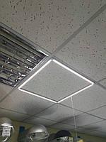 Потолочная светодиодная панель  ART VIDEX 40W 5000K 220V