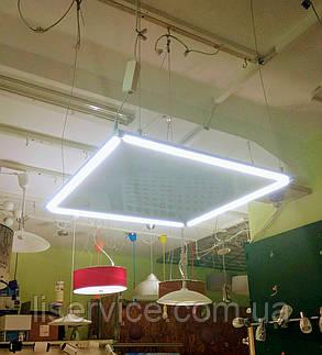 Потолочная светодиодная панель  ART VIDEX 40W 5000K 220V, фото 2