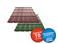 Металлочерепица RANTECH DG 4343 PM polyester matt