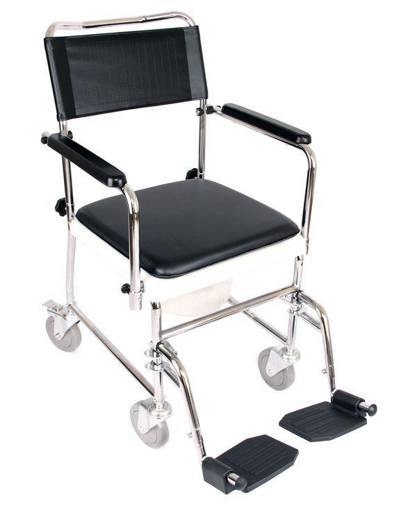 Крісло-каталка з санітарним оснащенням «JBS» OSD-JBS367A