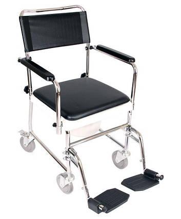 Крісло-каталка з санітарним оснащенням «JBS» OSD-JBS367A, фото 2