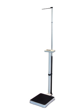 Ваги електронні колонного типу з ростоміром Момерт (Momert 5964), квадратні, до 200 кг, Угорщина