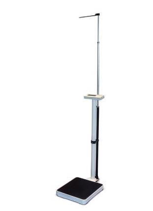Ваги електронні колонного типу з ростоміром Момерт (Momert 5964), квадратні, до 200 кг, Угорщина, фото 2