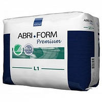 Подгузники ABENA Abri-Form Premium L1, (100-150 см), 2500 мл, 10 шт., Дания