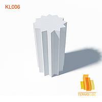 КОЛОННА KL006, размеры: 500 x 500 мм