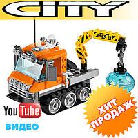 """Конструктор Bela 10438 (аналог Lego City 60033) """"Арктический гусеничный вездеход"""", 119 дет"""