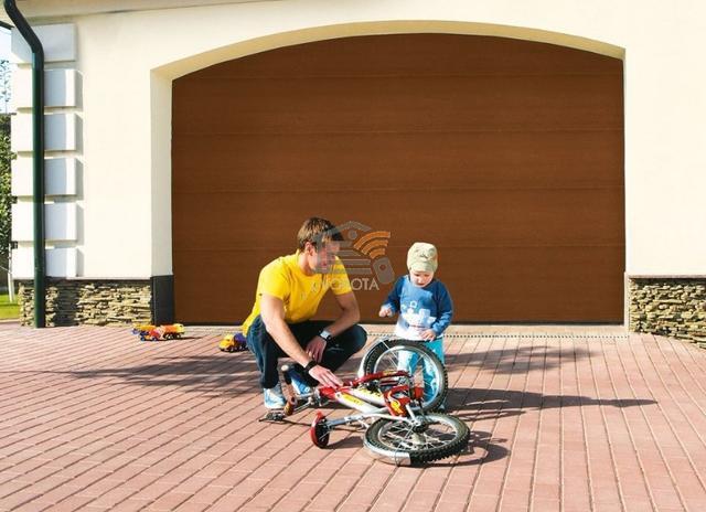 как сделать гаражные ворота своими руками видео