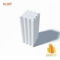 КОЛОННА KL007, размеры: 600 x 600 мм