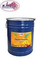 Грунт-эмаль 3в1 быстросохнующая, серая, 15 кг