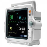 Монитор пациента iMEC12 укомплектован: TR SpO2, NIBP Adu, cab. ECG5 lead, IBP