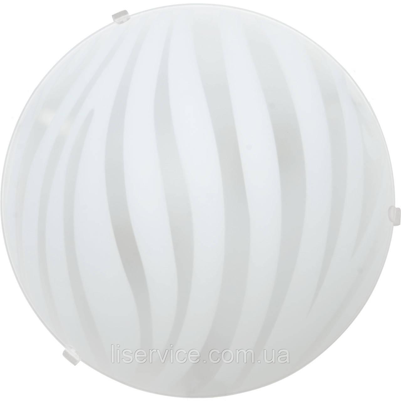 10060 Зебра НББ 1х100 Вт,Е27 d=250, белый