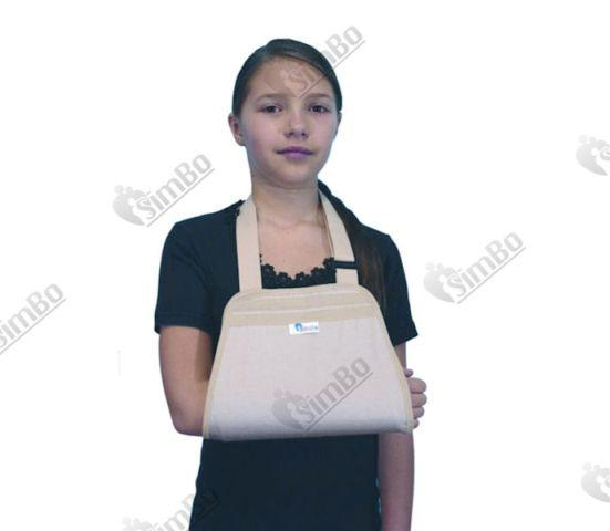 Ортез детский на верхнюю конечность (Поддерживающая повязка на руку трапеция) ОВ.05 - ОВ.05.д