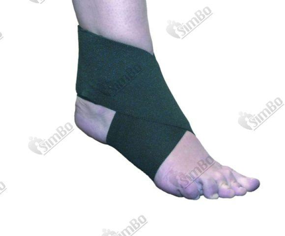 Восьмерка на голеностопный сустав прострел коленного сустава