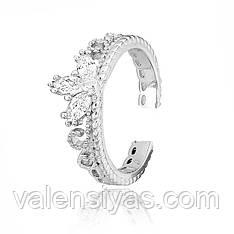 Серебряное кольцо на фалангу К2Ф/254