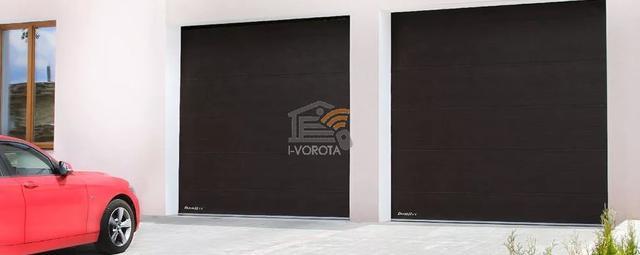 купить гаражные автоматические секционные ворота
