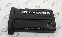 Декоративная клапанная крышка под (алюминий) DOHC Ланос, Нубира, Такума, Нексия 1.6 л. GM Корея