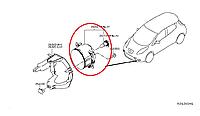 Nissan Leaf Протитуманка RH