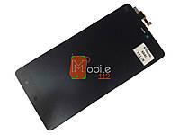 Модуль для Xiaomi Mi4c (Дисплей + тачскрин), чёрный оригинал PRC