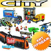 """Конструктор Lepin 02038 (аналог Lego City 60097) """"Городская площадь"""", 1767 дет"""