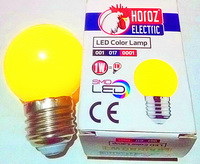 Лампа LED Rainbow 1W E27 Horoz Electric