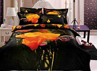 Комплект постельного белья 3D сатин евро MARIPOSA