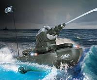 Радиоуправляемый танк-амфибия стреляющий водой