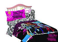 Одеяло-плед 2 в 1 Монстер Хай Monster High