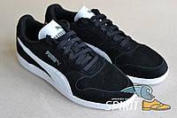 Кроссовки замшевые Puma мужские, черные. Оригинал. 42р. Сток.